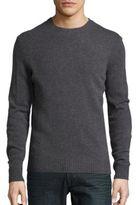 Black & Brown Black Brown Wool-Blend Crewneck Sweater