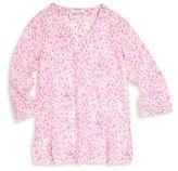 Elizabeth Hurley Beach Toddler's, Little Girl's & Girl's Leopard Coverup