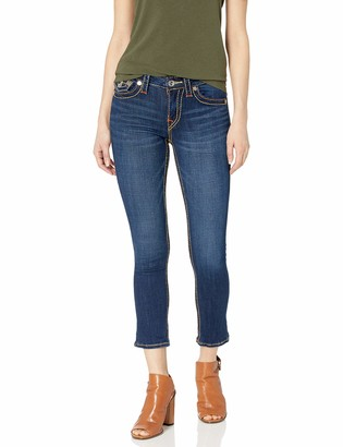 True Religion Women's Jennie Capri FLP Big T