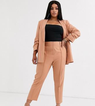 ASOS DESIGN curve mix & match ultimate ankle grazer suit trousers