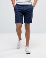 Tommy Hilfiger Freddy Chino Shorts Straight Fit Stretch Twill in Navy