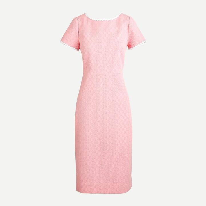 Thumbnail for your product : J.Crew Tall sheath dress in daisy matelassé