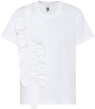 Noir Kei Ninomiya Embellished cotton T-shirt