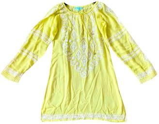 Melissa Odabash Yellow Cotton Dress for Women