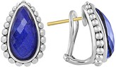 Lagos Lapis Doublet Half Hoop Earrings