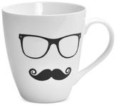 Pfaltzgraff Men's Glasses And Mustache Mug