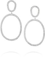 Ileana Makri Again Single 18-karat White Gold Diamond Earrings - one size
