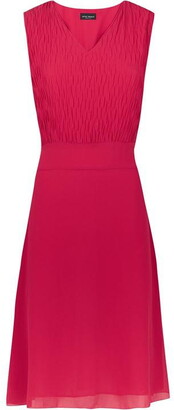 James Lakeland Textured Sleeveless Dress
