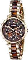 Fossil Women's ES3925 Analog Display Analog Quartz Two Tone Watch
