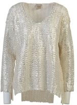 Nude Chain Detailed Sweater