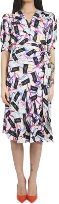 Marc Jacobs White Wrap Dress