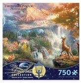 Disney Thomas Kinkade Dreams 750-Piece Bambi's First Year Puzzle