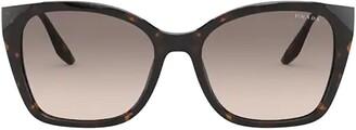 Prada Squared Oversized Sunglasses