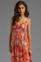 Gypsy 05 Etretat Fern Print Maxi Dress