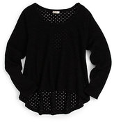 Sally Miller Girl's Dot Sweater