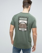 The North Face Kilimanjaro Face T-shirt In Green