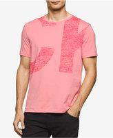 Calvin Klein Jeans Men's Enlarged Logo Graphic-Print Cotton T-Shirt
