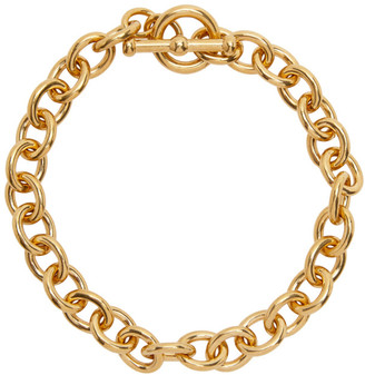 Saint Laurent Gold Chain Necklace