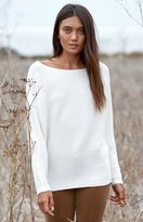 La Hearts Cocoon Pullover Sweater