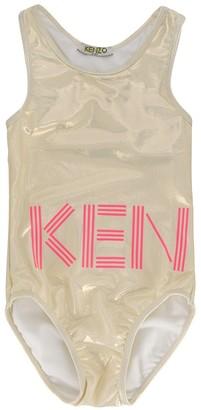 Kenzo logo print swimsuit