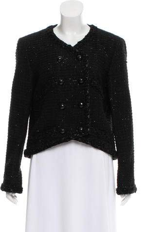 Chanel Embellished Tweed Jacket w/ Tags