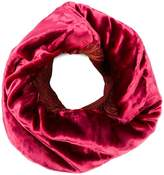 Issey Miyake velvet infinity scarf