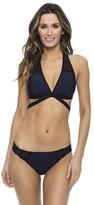 Nautica Net Effect Wrap Bikini Top