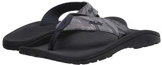 OluKai 'Ohana Pa'i (Trench Blue/Pahoehoe) Men's Sandals