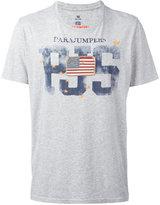Parajumpers flag patch T-shirt - men - Cotton - M