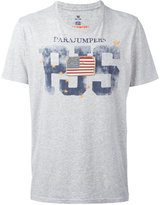 Parajumpers flag patch T-shirt - men - Cotton - S