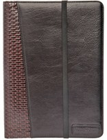 Tommy Bahama 'Basketweave' Leather Ipad Case - Brown