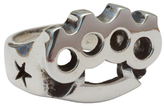 Femme Metale Jewelry Big Knux Ring
