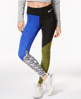 Nike Power Legendary Colorblocked Training Leggings