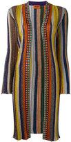 Missoni striped midi cardigan - women - Cupro/Polyester/Rayon - 44