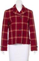 Lauren Ralph Lauren Wool Plaid Jacket