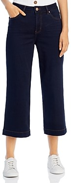 Jag Jeans Lydia Wide-Leg Cropped Jeans in Celestial Blue