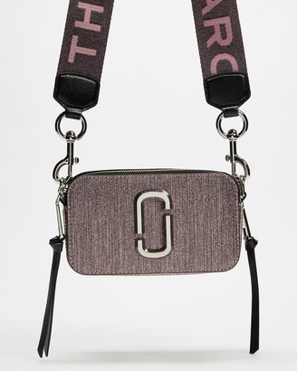 Marc Jacobs Women's Pink Leather bags - Snapshot Cross-Body Bag - Size One Size at The Iconic