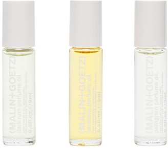Malin+Goetz Three Piece Perfume Oil Set