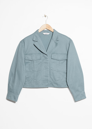 And other stories Cropped Utilitarian Jacket