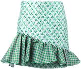 Brognano - asymmetric frill skirt - women - Acrylic/Polyamide/Polyester/Polyimide - 40