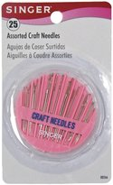Singer Assorted Craft Needles In Compact, 25-Count