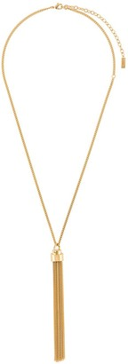 Saint Laurent tassel pendant necklace