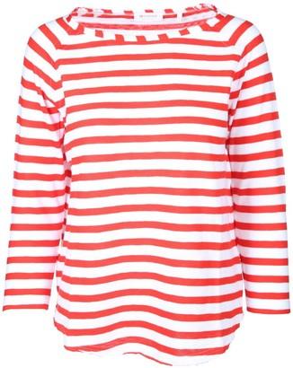 Rich & Royal rich&royal Women's Heavy Jersey Longsleeve Striped T-Shirt