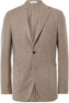Boglioli - Oatmeal Slim-fit Wool And Cashmere-blend Blazer