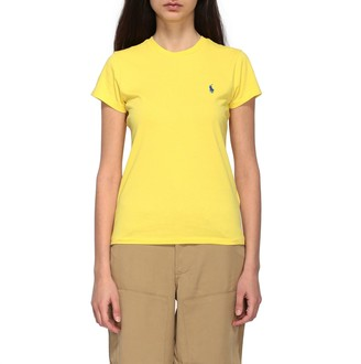 Polo Ralph Lauren Crew Neck T-shirt With Embroidered Logo