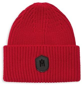 Mackage Rib-Knit Shield Beanie