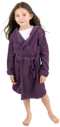 Leveret Purple Bathrobe (Baby, Toddler, Little Kids, & Big Kids)