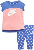 Nike Baby Girl Futura Tunic And Capri Set