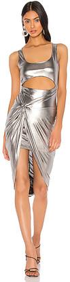 superdown x Draya Michele Jamia Twist Front Maxi Dress
