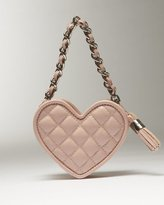 Bebe Quilted Heart Mini Bag